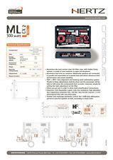 Rara Coppia Filtri Crossover passivi 2 Vie Esoterico Multiamp HERTZ MILLE MLCX 2