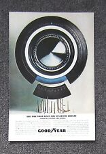 GOODYEAR DOUBLE EAGLE TYRE - Vintage Auto Magazine Sales Ad Page Advertisement