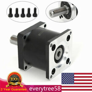 High torque Nema23 Planetary Gearbox Ratio 5:1 Speed Reducer For Stepper Motor