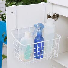 Over The Cabinet Basket Organizer Kitchen Bathroom Tool Storage Over Door Holder
