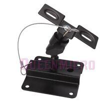 1 PC Heavy Duty Steel Adjustable Tilt Swivel Speaker Ceiling Wall Mount Bracket