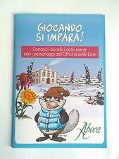 """RARO Albo dì Silver """"Aboca""""tipo  Lupo Alberto cattivik no corno adesivi Bonvi"""