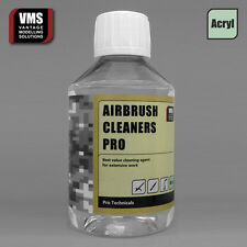 Airbrush cleaner solution DILUTABLE AC 200ml = 400ml by VMS, Vallejo compatible