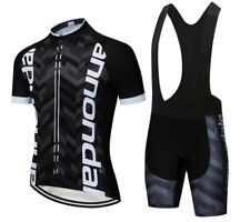 MTB Men's Cycling Suit Riding Sportswear with Jersey and Padded Bibs