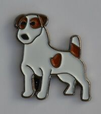Jack Russell Terrier Quality Enamel Pin Badge