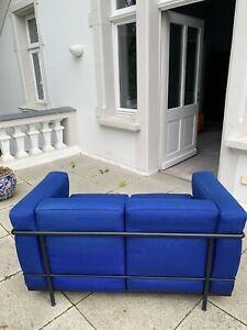 Cassina LC2 Sofa - Blau