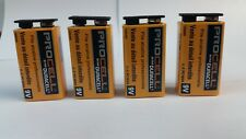 9V Duracell ProCell Batteries qty 4 Free Shipping Expiration date March 2023