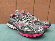 Brooks Ghost 5 Pink/Gray/White Women's Shoe Size 9.5