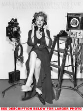 MARILYN MONROE ON 2 PHONES atSAMETIME 1xRARE 8x10 PHOTO