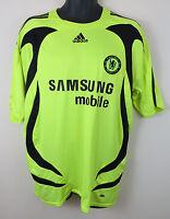 Adidas 2007-08 Chelsea Football Shirt Away Soccer Jersey Trikot Maglia XL