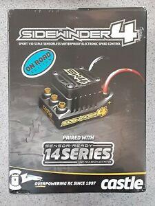 Castle Creations Sidewinder SW4 Waterproof 1/10 ESC/Motor Combo w/1406 6900kV