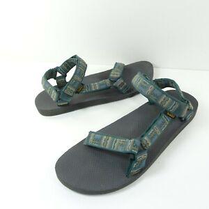 Teva Men's Sandals Original Universal 1004006 Green  Aztec Tribal Size 14