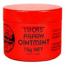 LUCAS PAPAW OINTMENT 75G PAW PAW CREAM CRACKED SKIN LIPS DRY LIPS CHAFING CUTS