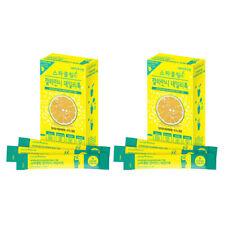 Calamansi Sparkling Juice Extract Powder Detox Vitamin C Dietary Fiber 2 Box