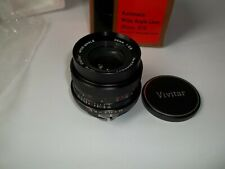 Vivitar 35mm f/2.8 for Nikon F Mount Non-AI 35mm Prime 1:2.8 Wide Angle (C1000)