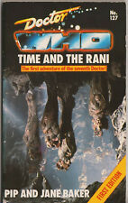 Doctor Who - Time and the Rani. RARE 1st Target Books edn.