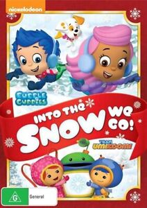 Bubble Guppies/Team UmiZoomi - Into The Snow We Go DVD