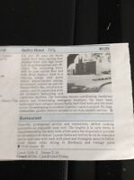 M2-2 Ephemera 1948 Small Article Review Handforth Belfry Hotel