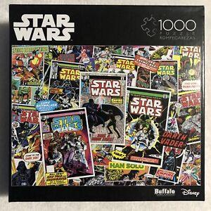 Star Wars 1000 Piece Jigsaw Puzzle - Classic Comic Books - Buffalo Games Disney