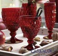 Villeroy & Boch BOSTON COLOURED Servizio Bicchieri 18 Pz Rosso