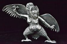 chinese fairy tale eagle immortal handwork Collectible Old tibet Silver statue