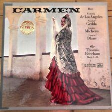 ASD 331-3 Bizet Carmen / de los Angeles / Beecham etc. W/G 3 LP box