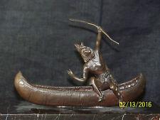 Carl Kauba Listed Sculptor  American Statue Sculpture Artist Signed