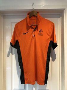 NCAA Oklahoma State University Cowboys Nike Shirt Polo Size Size Small Dri-fit