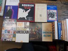 Lot de 13 livres sur l'Amérique