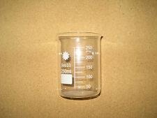 Borosilicate Glass Beakers 250mlpack Of 10