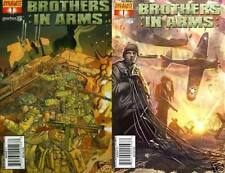 set (2) BROTHERS IN ARMS #1 1st print GEARBOX COMIC 1st print DDP ps3 xbox 360