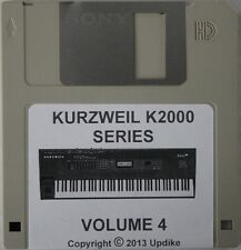 "Kurzweil K2000/K2500/K2600 Series Synthesizer"" Volume 4"" Custom sound programs"