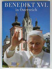 Benedikt XVI in Österreich Auf Christus schauen Styria ohne CD Papst