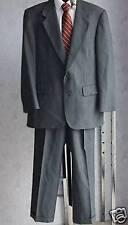 Stafford gray wool suit jacket pants 40R