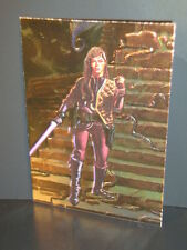 "1996-Star Wars, ""Finest""- ""Foil-Embossed"" - Subset Chase Card - F-4 - Jaina."