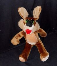 "17"" VINTAGE THAT'S MY DOLL INC BROWN COYOTE GREEN EYES STUFFED ANIMAL PLUSH TOY"