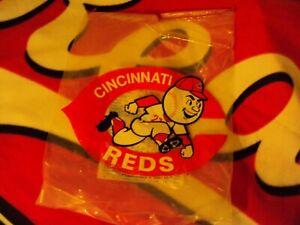 1968 Cincinnati Reds Schedule Crosley Field Shopping Bag Rare