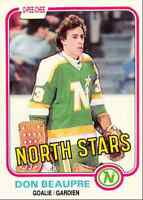 1981-82 O-Pee-Chee Don Beaupre Rookie Minnesota North Stars #159