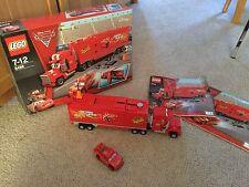 COSTRUZIONI LEGO 8486 Disney Cars 2 MACK'S TEAM TRUCK COMPLETO