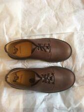 Dr.Martens 1561 PW  4 eyelet Shoes Peat Sacremento Leather UK 4 EU 37 NEW in box