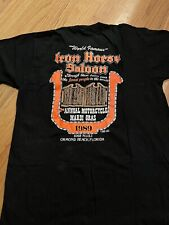 New listing Vtg 1989 Iron Horse Saloon Bike Week Ormond Beach, Fl 2nd Annual Shirt