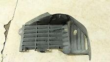 89 Honda XL 600 V XL600 Transalp right side radiator cover grill guard vent