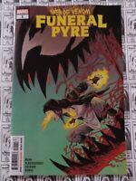 Web of Venom Funeral Pyre (2019) Marvel - #1, Cullen Bunn/Alburquerque, VF/NM