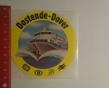 Aufkleber/Sticker: Oostende Dover Db (12121657)