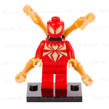Spider-Man character- Iron Spider Minifigure  Building Blocks Toy Fit Lego
