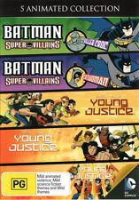 Batman Super Villains:  Killer Croc/ Batman Super Villain . - DVD - NEW Region 4