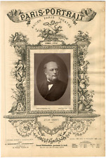 Lemercier, Paris-Portrait, François-Judith-Paul Grévy dit Jules Grévy (1807-1891