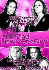 WSU Womens Wrestling - 2nd Anniversary Show DVD Awesome Kong NXT Kharma WWE TNA