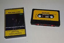 ROLAND KIRK KIRK'S WORKS 1988 PRESTIGE UK CASSETTE