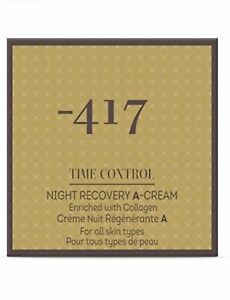 Minus 417 Time Control Recovery A Night Cream 1.7 oz Wrinkle Recovery Anti-Aging